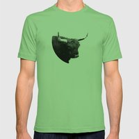 Lumbering Beast II  Mens Fitted Tee Grass SMALL