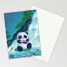 Panda Lilly Stationery Cards