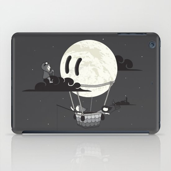 You Should See The Moon In Flight iPad Case
