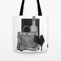 Fashion Illustration - I… Tote Bag