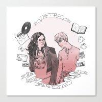Rae + Finn Canvas Print