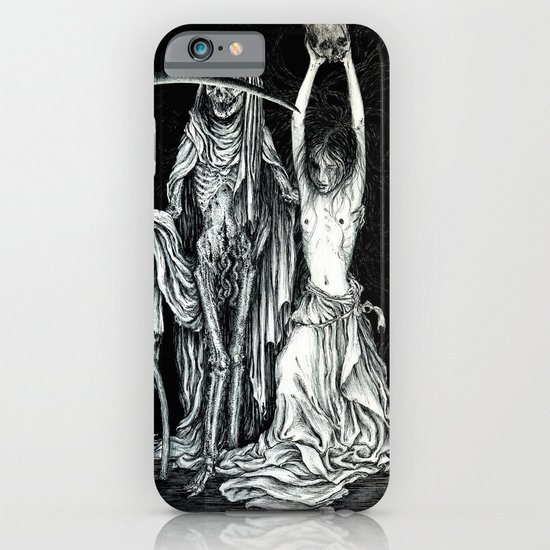 Death and the Maiden II iPhone & iPod Case