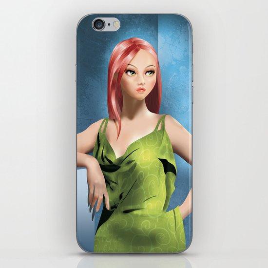 Vivien iPhone & iPod Skin