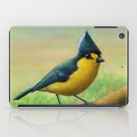 Yellow Tit iPad Case