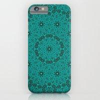 Beautiful Mandala In Tea… iPhone 6 Slim Case