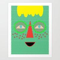 Candy Canes Art Print