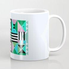 Blue Triangulation Mug