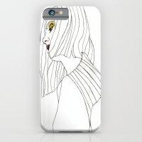 Yellow Eyeshadow iPhone 6 Slim Case