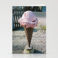 Giant Ice Cream Stationery Cards