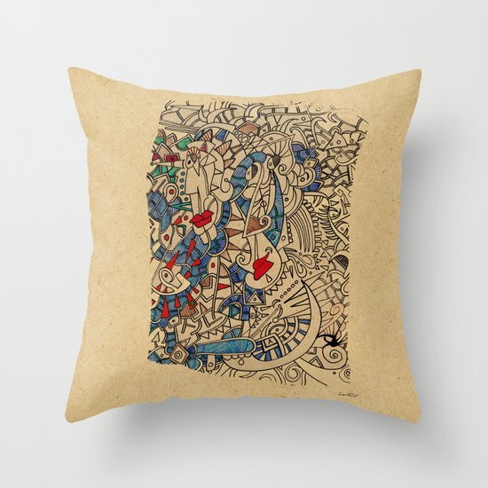 - medieval - Throw Pillow