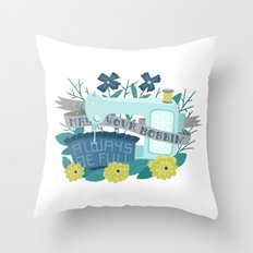May your bobbin be full Throw Pillow