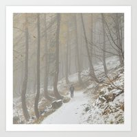 A Walk In The Forest Of … Art Print