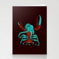 Crabonster Stationery Cards