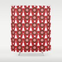 Xmas Shower Curtain