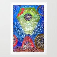 Rubrik Art Print