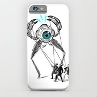 iPhone & iPod Case featuring The Taming  by victor calahan