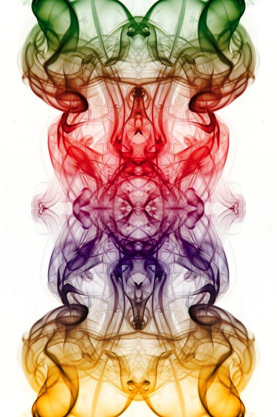 Smoke Art 13 Art Print