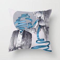 Mind Reader Throw Pillow