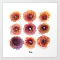 Nine Niles Art Print