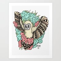 Its an Owl thing Art Print