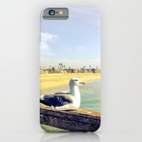 iPhone & iPod Case featuring Lazy ass seagull. by John Martino