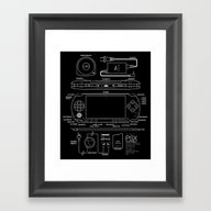 PSX Portable Framed Art Print