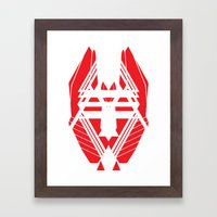 Geometric 1 Framed Art Print
