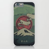 iPhone Cases featuring Fuji by Hector Mansilla