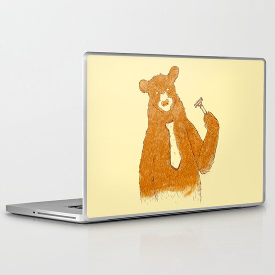 Office Bear Laptop & iPad Skin