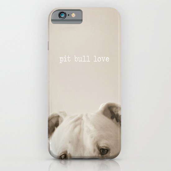 Pit bull love  iPhone & iPod Case