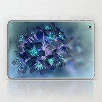 FLOWERS -Blue Blossoms Laptop & iPad Skin