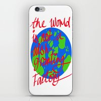 the world is not a wish granting iPhone & iPod Skin