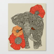 The Elephant Canvas Print