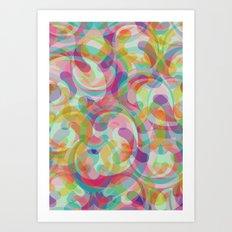 Swirl II Art Print