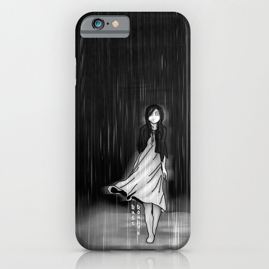 ... as the rain fell on me iPhone & iPod Case