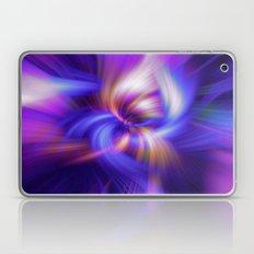 Abstract Twirls Wallpaper Laptop & iPad Skin