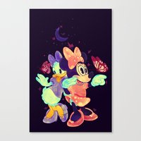 Viewtiful Expressions Canvas Print