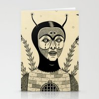 Preternatural Prison Stationery Cards