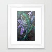 Pintado Flower Framed Art Print