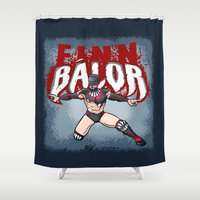 Finn Balor Shower Curtain