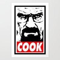 Cook - Breaking Bad Art Print