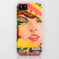 Confetti Woman iPhone (5, 5s) Slim Case
