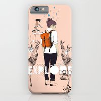 iPhone & iPod Case featuring The Wilderness by Frances Beale