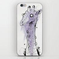 giraffe. iPhone & iPod Skin