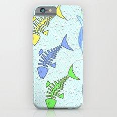 Fish jumping iPhone 6 Slim Case