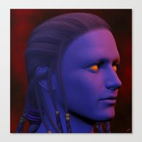 The Oracle Canvas Print