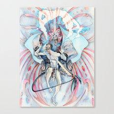 Maori Stingray Canvas Print