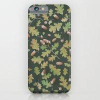 iPhone & iPod Case featuring Oak pattern by Yuliya