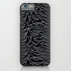 Unknown Radio Waves - Unknown Pleasures iPhone 6 Slim Case