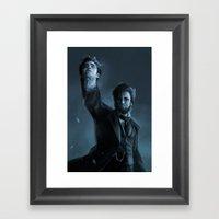 ABE THE HUNTER Framed Art Print